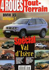 REVUE 4 ROUES TOUT TERRAIN 1999 VAL D'ISERE BMW X5 MERCEDES OPEL NISSAN TOYOTA
