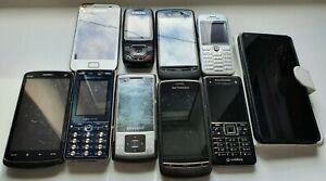 10x Working Phone Bundle/Joblot, Samsung, Sony, HTC, Free UK delivery