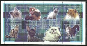 Central African Republic Stamp - Cats Stamp - NH