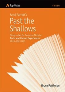 HSC English Top Notes study guide Past the Shallows