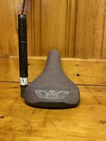 SE Racing Wing Saddle Padded Seat & Post Set Up Complete With Guts Bmx Frees