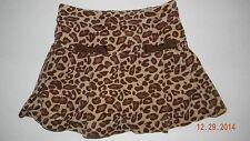 GYMBOREE girls TEACHERS PET Leopard Spotted Skort SKIRT*  4
