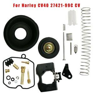 Carburetor Rebuild Repair Kit For Harley CV40 27421-99C CV, 27490-04 40mm Carb