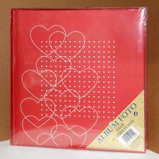 Album fotografico porta foto di vari formati 20 fogli 32x32 cm - cuore
