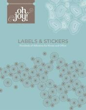 Oh Joy! Labels & Stickers: Hundreds of Adhesives for Home and Office  LikeNew