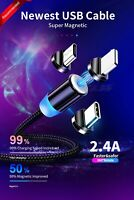 ✅ Magnetische LED schnell Handy Ladekabel für iPhone Samsung Huawei Xiaomi DE ✅