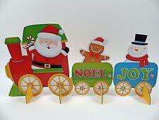 Noël Creative train Santa Claus Festival Table Ornement Décoration Vacances