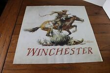 Winchester Horse & Rider Poster  Phillip Goodwin Free Shipping