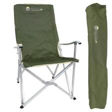 Camping Klappstuhl grün bis 150kg - Regiestuhl, Festivalstuhl
