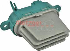 Regler, Innenraumgebläse für Heizung/Lüftung Vorderachse METZGER 0917172
