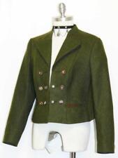 "Boiled WOOL Jacket Coat EMBROIDERY German Women Hunting Riding Dirndl B40"" 10 M"
