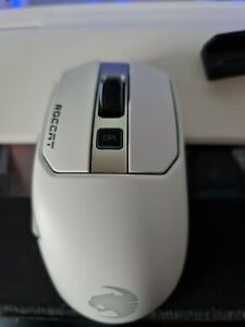 Roccat Kain 202 Aimo RGB Gaming Mouse - White