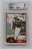 1981 Topps #254 Ozzie Smith Rookie Padres 🔥Beckett 9 MINT