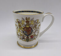 Aynsley Investiture Princes Of Wales Commemorative Mug Vintage Made In England