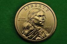 2001-P BU Mint State (Sacagawea) US One  Dollar Coin