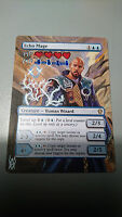 MAGIC MTG ECHO MAGE ALTERED EXTENDED ART HAND PAINTED NEW