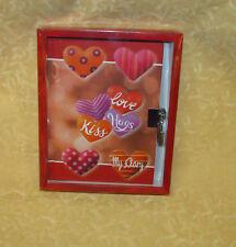 DIARIO SEGRETO CON LUCCHETTO fantasia CUORE LOVE cod.20074