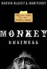 Monkey Business True Story of the Scopes Trial (Hardcover) NEW!!!