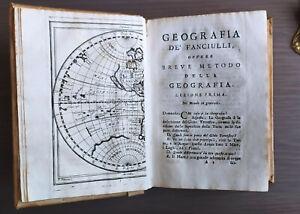 Geografia de fanciulli; ovvero Breve metodo di geografia...Lenglet DuFresnoy 746