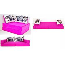 KKH6 Kindersofa Kindermatratze Sitzkissen Spielsofa Minicouch Set + 2 Kissen