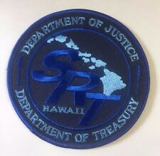 DOJ DOT Treasury SRT Special Response Team Hawaii Division Cloth Patch