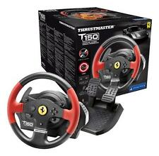 Thrustmaster T150 Force Feedback Racing Wheel Ferrari Edition Pedals PC PS3 PS4