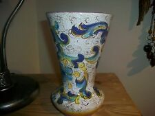 DERUTA CO MADE IN ITALY POTTERY VASE