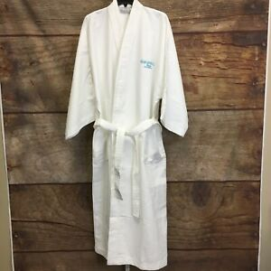 T-Y Diamond Collection Unisex One Size White Margaritaville Robe NWT