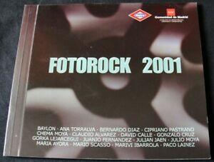 FOTOROCK 2001 - 2ª MUESTRA FOTOGRAFICA CULTURA POP-ROCK 2001 - CATALOGO
