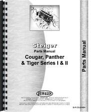 Steiger Cougar Panther Tiger Tractor Parts Manual Catalog