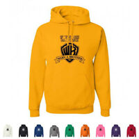 If You See Da Police Warn A Brother Funny WB Logo WTF Mens Hoodies