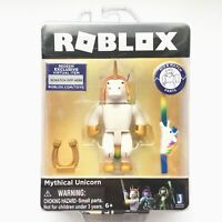 Roblox MYTHICAL UNICORN Figure Toy with Exclusive Virtual Item Jazwares NEW