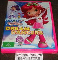 STRAWBERRY SHORTCAKE - DREAM DANCERS DVD (6 EPISODES) -BRAND NEW SEALED-