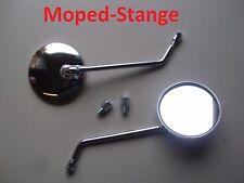Spiegel Stabspiegel Rückspiegel Chrom M8 M10 für Simson S51 Schwalbe S50 MZ