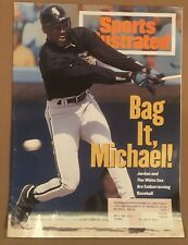 3.14.1994 Sports Illustrated MICHAEL JORDAN - CHICAGO WHITE SOX