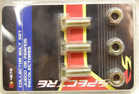 SPECTRE 4675 HEADER COLLECTOR BOLT KIT 6PC SET 3) ea. 3/8-16 Grade 5 + Lock Nuts