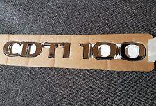 Genuine  Vauxhall CDTI 100 Door Badge Emblem for Movano 2010+Van 2.3