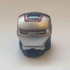 Iron Man Helmet - IRON MAN MINIFIGURE - IRON PATRIOT BLUE HELMET - *UNBRANDED*