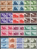 SALE Stamp Germany Mi 873-85 Sc B257-69 Block 1944 WWII Wehrmacht Military MNH