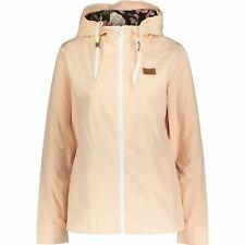 Billabong Women's Hooded Parka Jacket, Nude/Peach, size S
