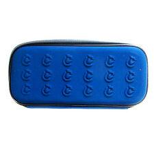 STAEDTLER NEOPRENE BLUE ZIPPERED PENCIL CASE WITH MESH POCKET  NEW