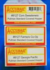 HO Scale - ACCURAIL 8127 CO-OP Pullman Standard Covered Hoppers - 3-Pack - KIT