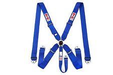 STR 5 Punto Racing Safety Harness Cintura di sicurezza degli aeromobili SFI CAM LOCK RELEASE BLU