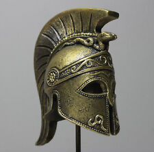 Leonidas Helmet Statue Bronze Greek Spartan Movie Handmade Collectible