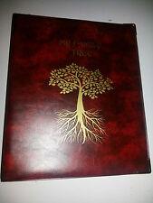 Mi árbol familiar-Historia de almacenamiento de carpeta Ref Rojo Con 4d 40 Mm De Metal Capacidad