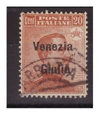 VENEZIA GIULIA 1919 - 20  CENTESIMI     USATO
