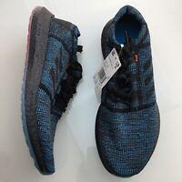 adidas Pureboost Go Blue Black Cyan Running Shoes Men's NEW