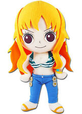 "New World Nami 9.5"" Plush Stuffed Doll (GE-52554) One Piece Anime Series Toy"