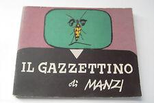 IL GAZZETTINO di MANZI - TUTTO A FUMETTI - 1967
