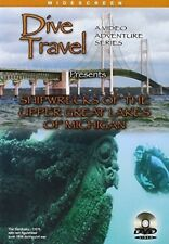 Shipwrecks of the Upper Great Lakes of Michigan [New DVD]